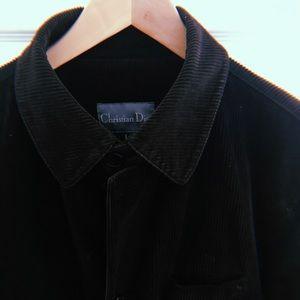 Christian Dior Brown Suede Blazer